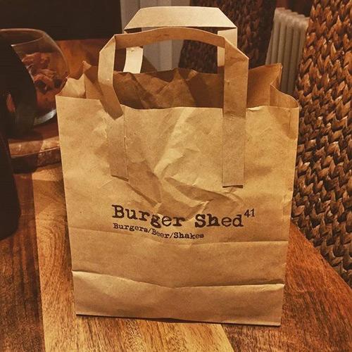 Bespoke Printed Paper Takeaway Bags